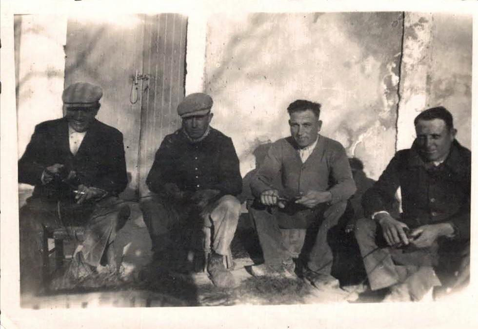 LA famille Taton à Cabannes